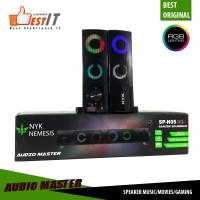 Speaker Gaming RGB NYK SP-N05 Speaker Soundbard Audio Master