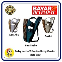 Gendongan bayi / baby scots print character - baby carier