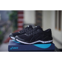 sepatu sport tenis casual asics gel badminton pria sneakers running