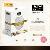 King Koil Mattress Protector Sleep Guard Organic Cotton Kingkoil - 120