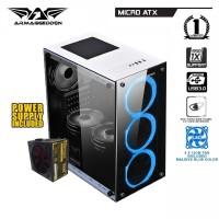 PC RAKITAN AMD RYZEN 3 2200G||RAM 8GB||RADEON VEGA 8 2GB||HDD 500GB ||