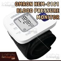 Omron HEM-6161 Blood Pressure Monitor HEM6161 Tensimeter Tekanan Darah