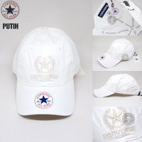 topi baseball CONVERSE CHUCK taylor import 7 warna UNISEX ( FREE BOX ) - Putih