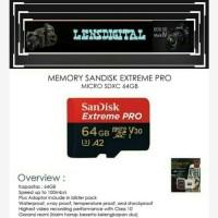Memory Sandisk Extreme Pro Micro SDXC 64GB
