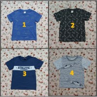 Kaos Anak Size S (3-4) Tahun Little M Branded Atasan