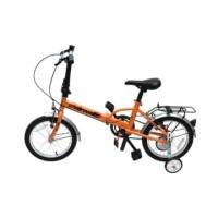 Airwalk Jedi Sepeda Lipat 16 Inci 1-Speed - Oranye