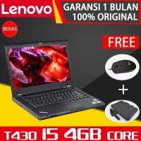 Lenovo Thinkpad T430 - i5 Gen3 - 8GB&4GB - 14 - Bekas