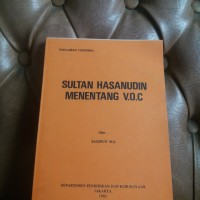 Sultan Hasanudin Menentang V.O.C.