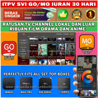 SVI GO/MO BEST IPTV FOR TVBOX-ANDROID TV-HP SUBSCRIBE