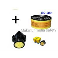 Masker Respirator Blue Eagle NP 305 + RC 203