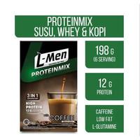 L-Men ProteinMix 3 in 1 Susu Whey Kopi LMen Protein Mix High Protein