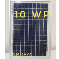 Solar Panel Surya Solar Cell 10WP 10 WP 10 Watt 10 W Poly DKD DEKADE