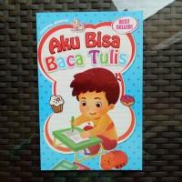 Buku Anak TK PAUD - Aku Bisa Baca Tulis, belajar membaca dan menulis