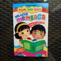 Buku Anak TK PAUD - Asyik dan Seru Belajar Membaca