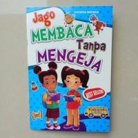 Buku Anak TK PAUD - Jago Membaca Tanpa Mengeja, belajar membaca