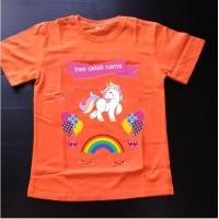 Kaos baju Tshirt anak Unicorn UNC013