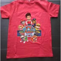 Kaos baju Tshirt anak Paw patrol PP-03
