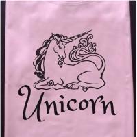 Kaos baju Tshirt anak Unicorn UNC014