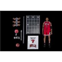 Enterbay NBA #1 Chicago Bulls Derrick Rose 1/9 Scale Action Figure