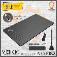 Veikk A15 PRO Digital Graphic Drawing Pen Tablet alt Huion XP Pen OSU