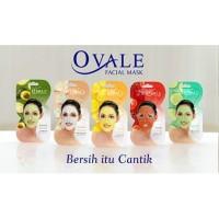 OVALE Facial Mask 15g (saset) / Masker Wajah Ovale