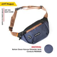 Tas Pinggang Waist bag Distro Original ANT Project Waistbag Terbaru
