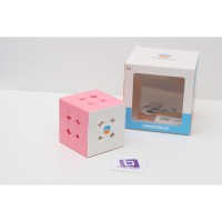 Rubik 3x3 Monster Go 356 Cloud 3x3 Pink White