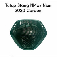 Cover Tutup Stang New Nmax 2020 Carbon NEMO / Cover Stang Karbon Nemo