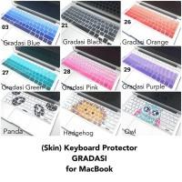 MacBook Skin Keyboard Protector Gradasi