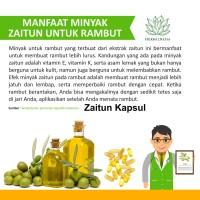 Minyak Zaitun Extra Virgin Oil 500mgr Minyak Untuk wajah / bpom