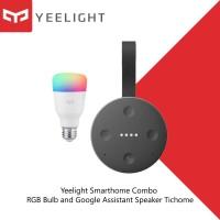 Yeelight Smarthome Combo RGB Bulb and Google Assistant Speaker Tichome