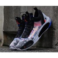 Sepatu Basket Nike Air Jordan 34 Low Print Colorways Premium Original