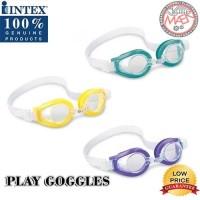 Kacamata Renang Intex / Kacamata Renang Anak / Goggles / Renang - Kuning