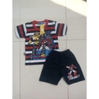 Kaos Harian Anak 12 -24 Bulan – Setelan Tangan pendek Domino