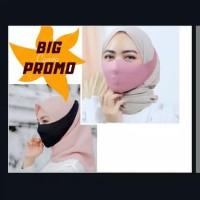 Masker Scuba hijab anti bakterial