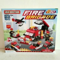 Mainan Lego Pemadam Kebakaran Fire Brigade
