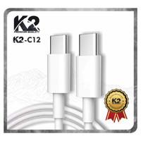 [GROSIR] Kabel Data PD K2-C12 K2 PREMIUM QUALITY TYPEC To TYPE C