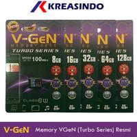 V-gen Micro SD Vgen 16gb 32gb 64gb 128gb 256gb Class 10 TURBO Series