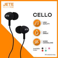 Handsfree / Headset / Earphone / EarPods JETE CELLO - Original