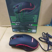 NYK HK-200 HK 200 Galaxy Mouse Gaming RGB