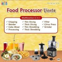 Cashback pembelian cash Blender food processor by vienta