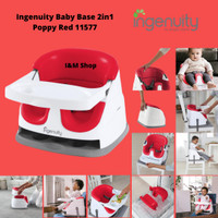 Ingenuity Baby Base 2in1 Poppy Red 11577 Kursi Makan Bayi
