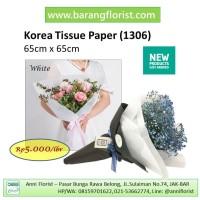 Korea Tissu Paper (1306), 1 lbr, Aksesoris toko bunga, kertas buket
