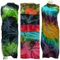Promo termurah kain pantai bali motif Sinaran Pelangi motif terbaru