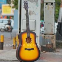 Gitar Akustik Elektrik Original Pabrikan