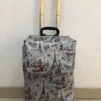Tas Belanja Roda, Trolley, Shopping Bag - Paris