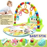 baby gym musical piano playmat mainan matras bayi