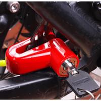 Kunci Gembok Rem Cakram Sepeda Motor Universal Besi Anti Air Kuat