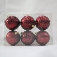 Hiasan Bola Natal / Ornamen Pohon Natal (6)