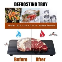 Defrost Plate Import Pelunak Makanan Dari Freezer / Defrosting Tray
